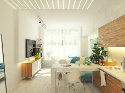 Decoração de sala de casas pequenas