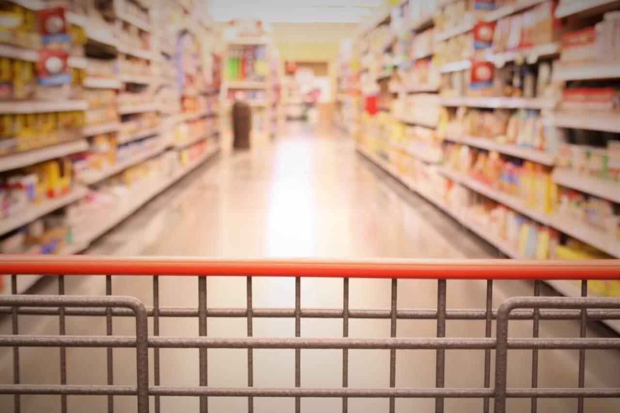Vendas no supermercado