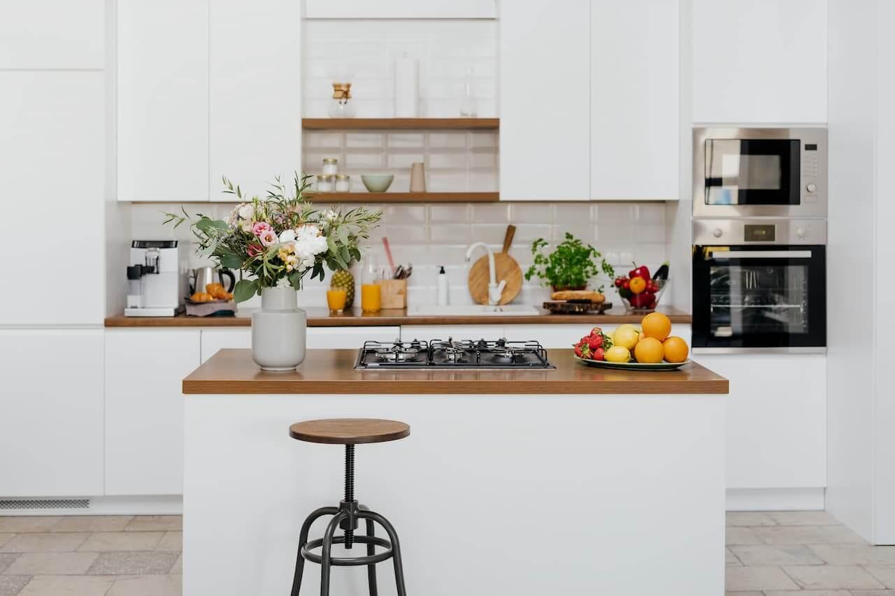 Decoração de cozinha de apartamento